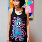 Long Eyes Tank Top