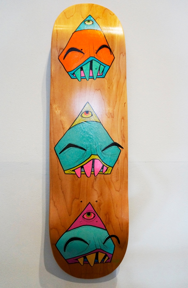 Watchers Skate Deck-Small